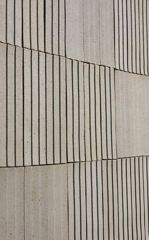Materialdesign Brutalist Klinker